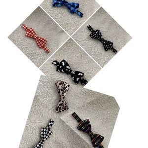 Other - ALL 7 - Adjustable Bow Ties